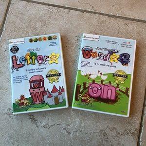 2 For $10🎉Two Preschool Prep Series DVD's